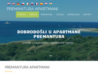 Frontpage screenshot for site: Premantura Apartments - Premantura (http://premantura-apartments-danijel.hr)