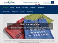 Slika naslovnice sjedišta: Damianus poslovna rješenja (http://damianus.hr)