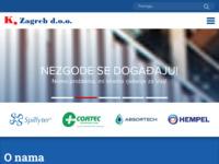 Slika naslovnice sjedišta: Korozija Zagreb d.o.o. (http://www.korozija.hr)