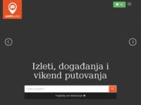 Frontpage screenshot for site: Izleti, putovanja, aktivnosti i posjeti - Happy To Visit (http://happytovisit.com/hr)