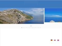 Frontpage screenshot for site: Berulia Travel - turistička agencija (http://www.beruliatravel-brela.hr)