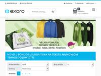 Slika naslovnice sjedišta: Exoro d.o.o. (http://www.exoro.hr)