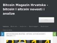 Frontpage screenshot for site: Bitcoin Magazin Hrvatska - Bitcoin novosti. Altcoin izvješća. (http://www.bitcoinmag.hr)