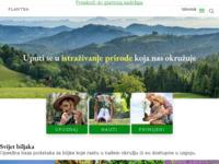 Slika naslovnice sjedišta: Plantea - biljke i priroda (http://www.plantea.com.hr)