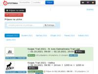 Slika naslovnice sjedišta: Stotinka d.o.o. za elektronsko mjerenje vremena na utrkama (http://www.stotinka.hr/)