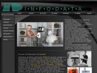 Slika naslovnice sjedišta: Infodata - servis informatičke opreme, 3D scan i 3D print (http://www.infodata.hr)