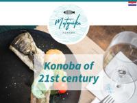 Frontpage screenshot for site: Konoba Matejuška - restoran u srcu Splita (http://www.konobamatejuska.hr/)