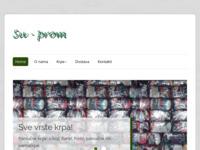 Slika naslovnice sjedišta: Su prom - Krpe za sve potrebe u industriji (http://www.su-prom.hr)