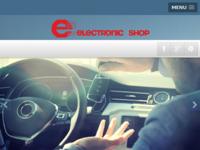 Slika naslovnice sjedišta: Tea Electronic shop (http://www.tea-elektronik.hr)