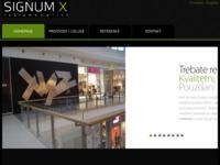 Slika naslovnice sjedišta: Signum iks d.o.o. (http://signumx.hr)