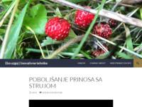 Slika naslovnice sjedišta: Eko uzgoj - Inovativne tehnike (http://organicekohr.wordpress.com)