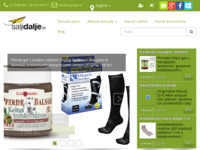 Frontpage screenshot for site: ŠaljiDalje - Popusti do 90% (http://www.saljidalje.hr)