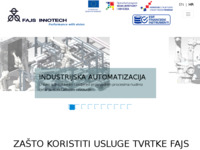 Frontpage screenshot for site: Fajs Innotech (http://www.fajsinnotech.hr)