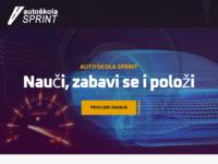 Slika naslovnice sjedišta: Auto škola Sprint (http://www.autoskola-sprint.hr)