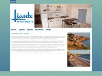 Frontpage screenshot for site: Apartmani Lianto - Drašnice (http://lianto.net/)