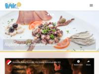 Frontpage screenshot for site: Konoba Bako - Komiža,Vis (http://konobabako.hr)