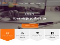 Slika naslovnice sjedišta: eStart IT usluge (http://www.estart.com.hr)