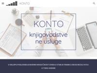 Slika naslovnice sjedišta: Konto - knjigovodstvene usluge (http://konto-mv.hr)