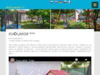 Frontpage screenshot for site: Kuća Jakob *** - Trogir (http://www.kuca-jakob.com)