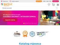 Frontpage screenshot for site: Bačelić d.o.o. (http://www.bacelic.hr/)