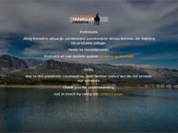 Frontpage screenshot for site: Mountain Traveller Croatia (http://www.mt-croatia.com)