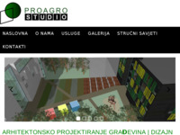 Frontpage screenshot for site: Proagro Studio (http://www.proagro-studio.hr)