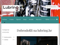 Frontpage screenshot for site: Lubring (http://www.lubring.hr)