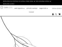 Slika naslovnice sjedišta: SAN prirodna kozmetika - Doživite san prirode na svojoj koži (http://www.san10.hr)
