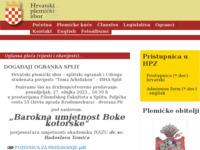 Slika naslovnice sjedišta: Hrvatski plemićki zbor (http://www.plemstvo.hr)