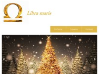 Frontpage screenshot for site: (http://www.libra-maris.hr/)