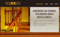 Slika naslovnice sjedišta: Stolarija Goreta (http://www.stolarija-goreta.hr/)