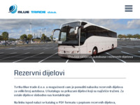 Slika naslovnice sjedišta: Blue trade d.o.o. - prodaja rabljenih autobusa (http://www.blue-trade.hr)