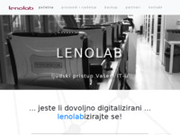 Slika naslovnice sjedišta: Lenolab rješenja (http://www.lenolab.hr)