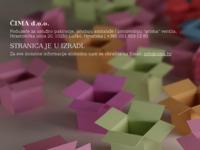 Frontpage screenshot for site: ČIMA d.o.o. - Lučko / Pakiranje / Ambalaža (http://www.cima.hr)