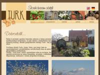Slika naslovnice sjedišta: Seoski turizam obitelji Turk (http://www.seoskiturizam-turk.hr/)