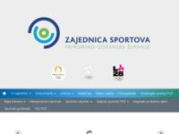 Slika naslovnice sjedišta: Zajednica sportova Primorsko-goranske županije (http://sport-pgz.hr/)