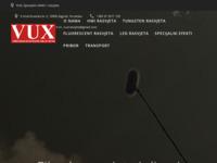 Slika naslovnice sjedišta: VUX – specijalni efekti i rasvjeta (http://vux-rasvjeta.hr)