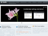 Frontpage screenshot for site: (http://www.vadis.hr/)