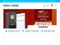 Frontpage screenshot for site: Fero-term (http://www.fero-term.hr/)