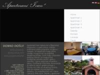 Frontpage screenshot for site: Apartmani Ivan - Rogoznica (http://apartments-ivan-rogoznica.hr)