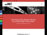Slika naslovnice sjedišta: DiskDoktor d.o.o. (http://www.diskdoktor.hr)