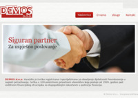 Slika naslovnice sjedišta: Demos d.o.o. (http://www.demos.hr)