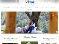 Frontpage screenshot for site: (http://www.videostudiovito.hr)