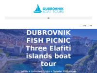 Frontpage screenshot for site: Izleti brodom u Dubrovniku (http://www.dubrovnik-boat.com)