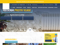 Frontpage screenshot for site: ProLuft - Aparati za isušivanje vlage (http://www.proluft.hr)