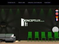 Frontpage screenshot for site: Conceptus Varaždin - elektro instalacije, servis, građevinarstvo, podovi, fasade (http://conceptus.hr/)