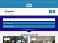 Frontpage screenshot for site: Solomun, Rovinj - nekretnine (http://solomun.hr)