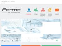 Slika naslovnice sjedišta: Ferma - strojogradnja i metalurgija (http://ferma-posredovanje.hr)