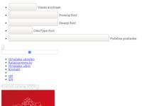 Frontpage screenshot for site: Vuković Centar (http://vukovic-centar.com)