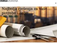 Frontpage screenshot for site: Omega izgradnja (http://www.omegaizgradnja.hr)